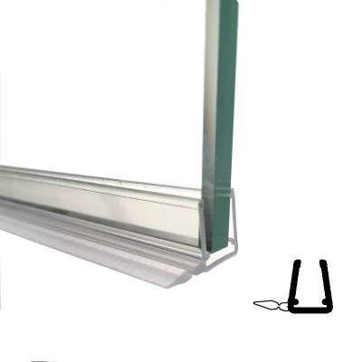 5mm Vertikal Streifdichtung für Schiebetüren mit Kurze Lippe Lange 2000mm