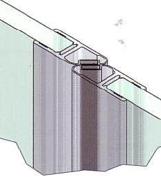 Muster von Magnetprofile 180°, 10/12 mm Glas
