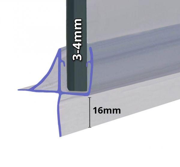 Wasserabweiser für 3mm und 4mm Glasstärke