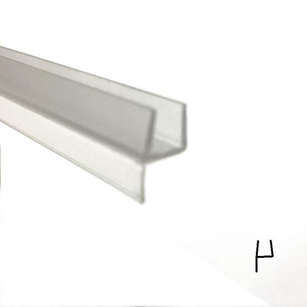Muster von Lippendichtung klein für 6mm Glas