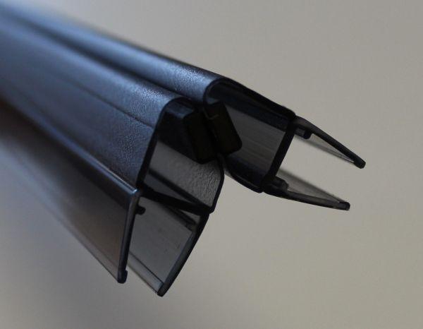 Magnetprofile Schwarz 90° Paarweise verkauft