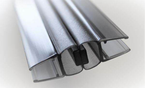 Magnetprofile Schwarz 180° (2x90°) wird paarweise verkauft