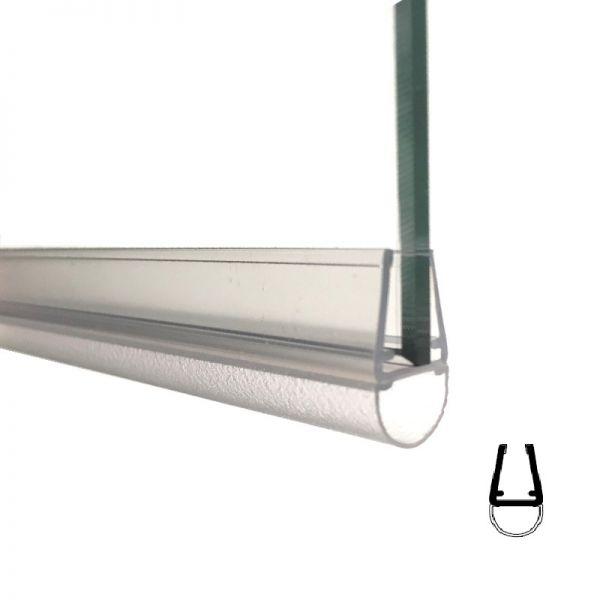 Muster von Streifdichtung, 5 mm Glas