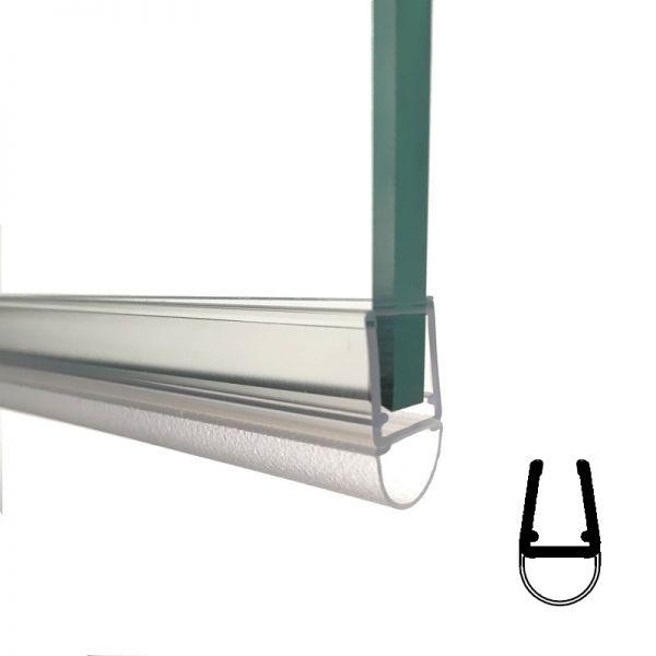 Muster von Streifdichtung, 6 / 8 mm Glas
