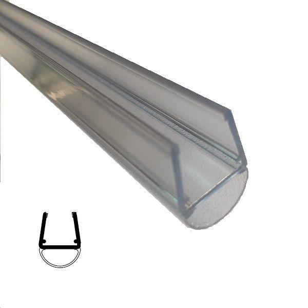 Streifdichtung, 10/12 mm Glas