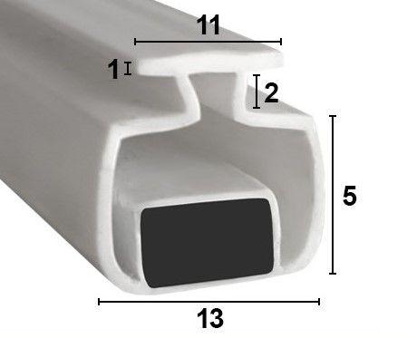Muster von LC003 - Magnetdichtung zum Einschieben