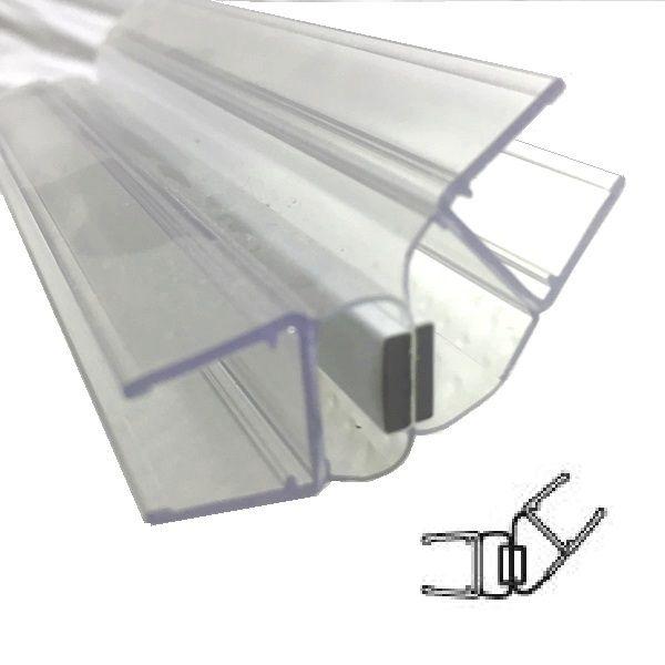 Magnetprofile 135°, für 10/12 mm Glas Länge 2500mm