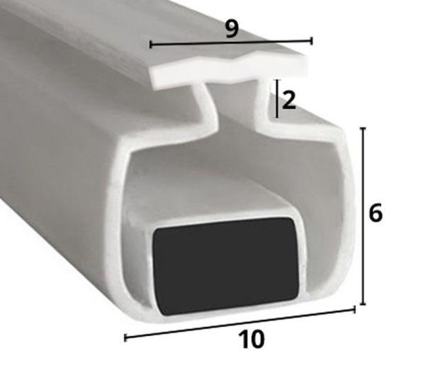 Muster von Magnetdichtung zum Einschieben