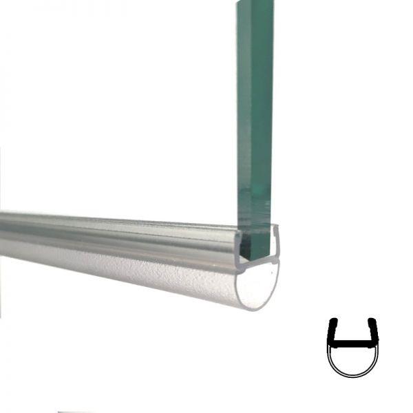 Streifdichtung klein, 8mm Glas Länge 2500mm