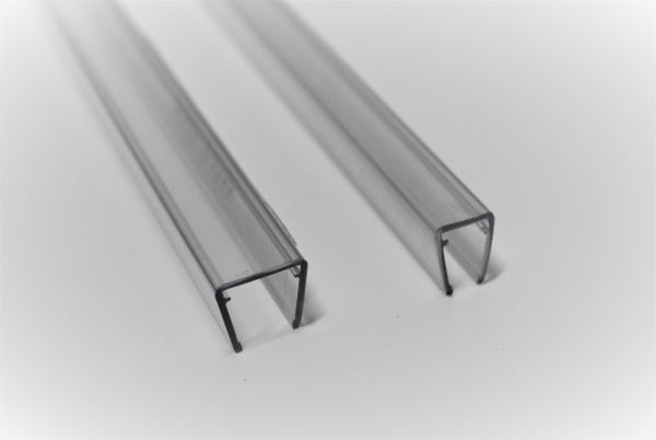 Kantenschutz für 8mm Glas - B Ware - Leicht verkrazt