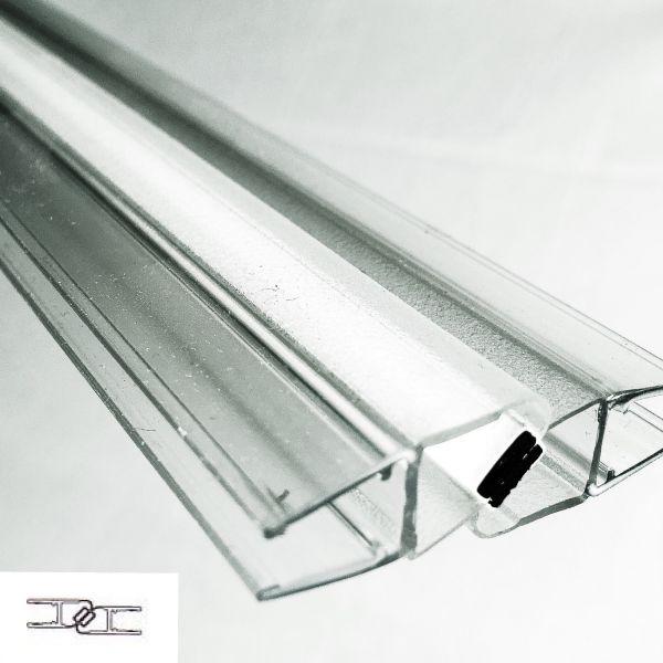 Magnetprofile 180°, (2x45°) wird paarweise verkauft, B-Ware, leicht Verkratzt.