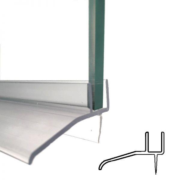 Wasserabweiser, für 8 mm Glas in 1m Länge