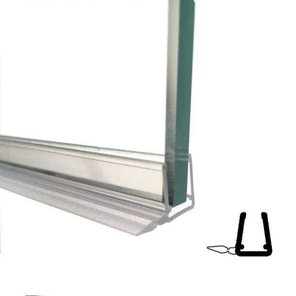 Muster von Spaltdichtung für 6 und 8mm Glas