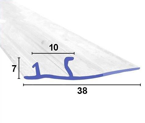 F-Form Dichtung zum einschieben mit 30mm Lippe