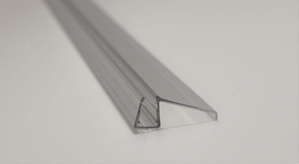 Wasserabweisprofil für 6mm Glas 1000mm Länge
