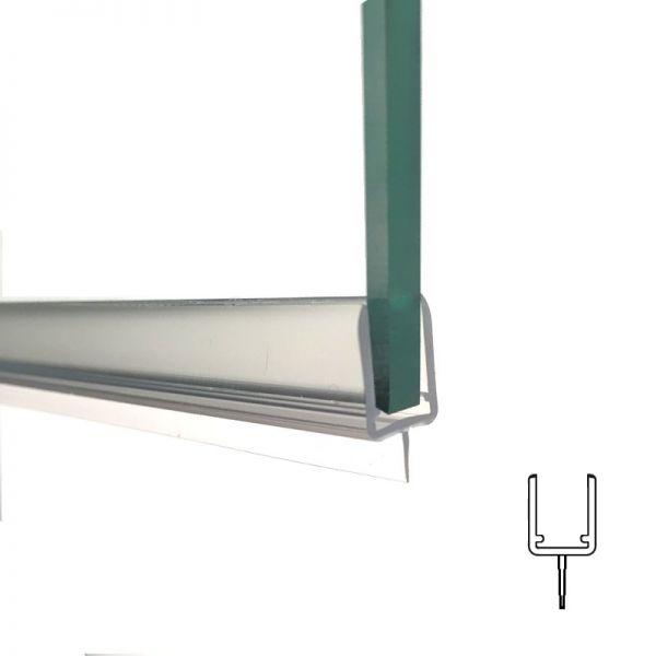 Pendeltürprofil mit Lippe Länge 2000mm