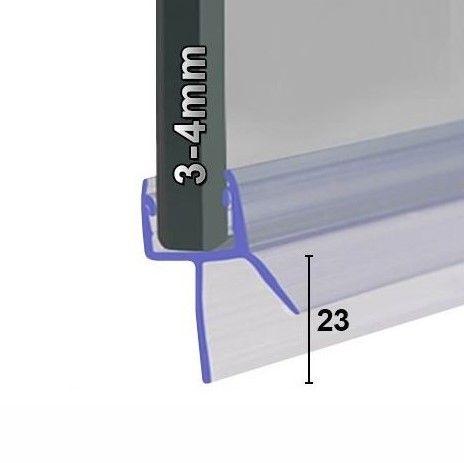 Muster von Wasserabweiser für 3mm und 4mm
