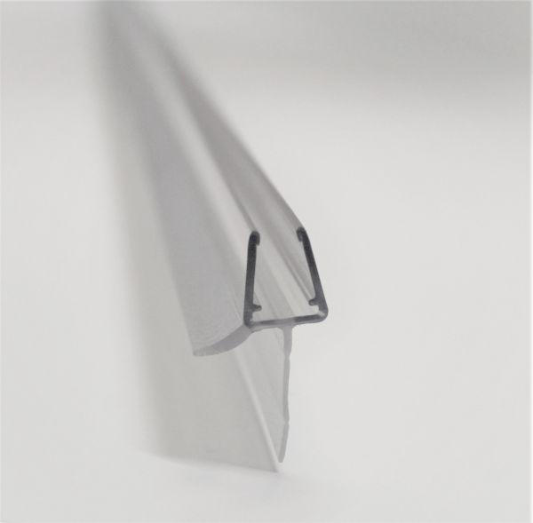 Wasserabweiser mit Lange Lipppe 20mm - 1000mm Länge für 6-8mm Glasstärke